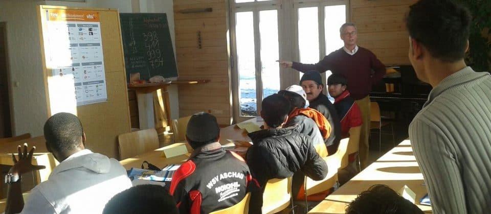 Sprachkurs im evangelischen Pfarrheim Aschau